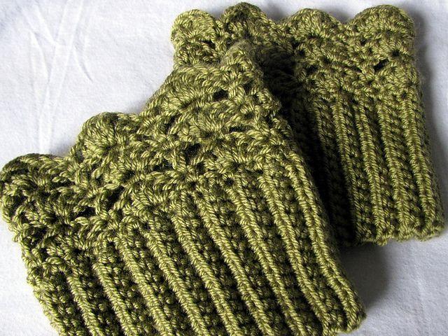 Brooklyn Boot Cuffs Free Crochet Pattern : 17 Best images about Crochet boot cuffs on Pinterest ...