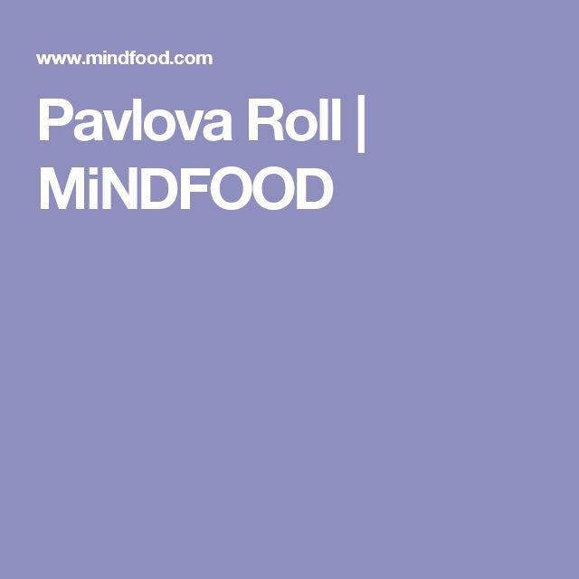 Pavlova Roll | MiNDFOOD