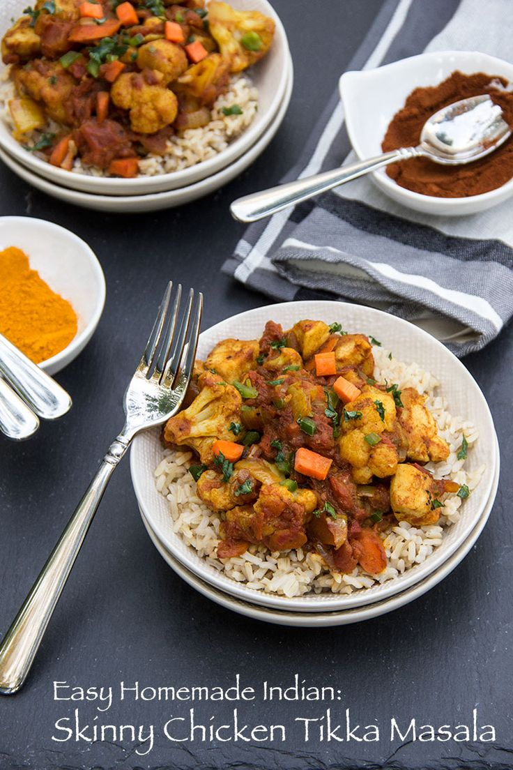 Best 25 healthy indian recipes ideas on pinterest indian easy indian skinny chicken tikka masala forumfinder Image collections
