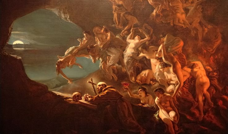 Temptation of Saint Hilarion - Octave Tassaert - Wikipedia, the free encyclopedia