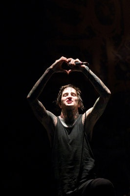 Suicide Silence - Mitch Lucker<3 love you dude stomp in heaven