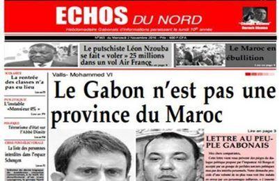 LE GABON N'EST PAS UNE PROVINCE DU MAROC