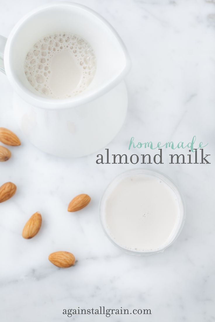 Homemade Almond Milk - Danielle Walker's Against All Grain Not a fan of the store bought carton milk, so maybe I should try this.