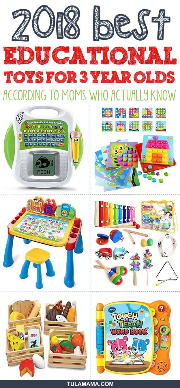 The Best Educational Toys For 3 Year Olds According To Moms Who