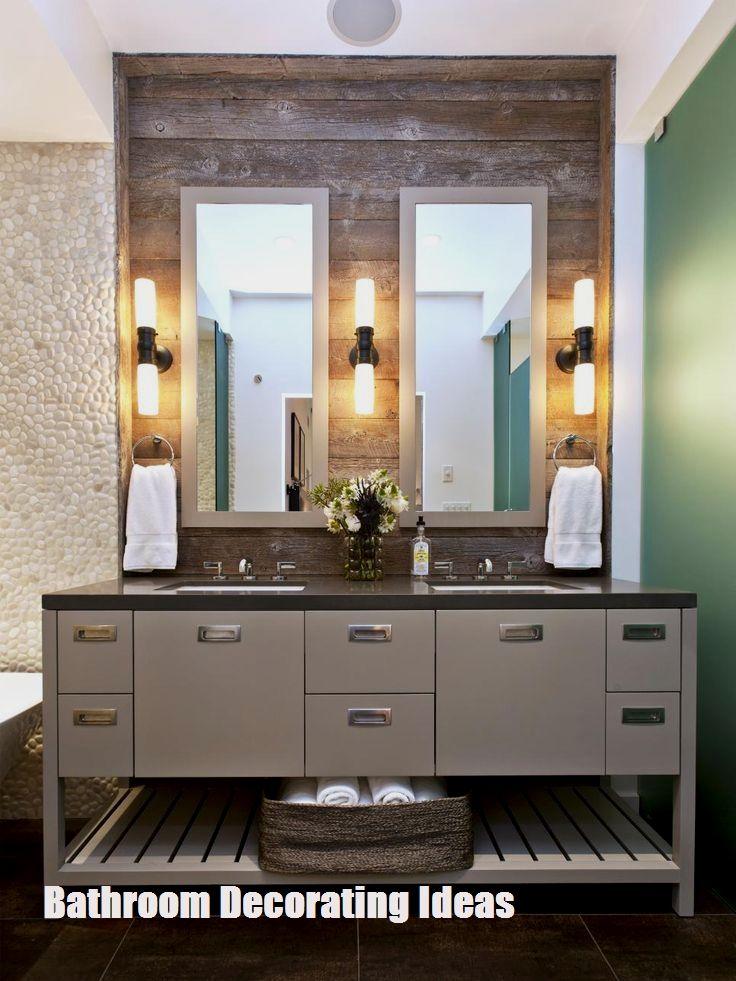 Make Your Bathroom Look Bigger With These Bathroom Decorating Ideas Best Bathroom Lighting Bathroom Wall Sconces Bathroom Light Fixtures