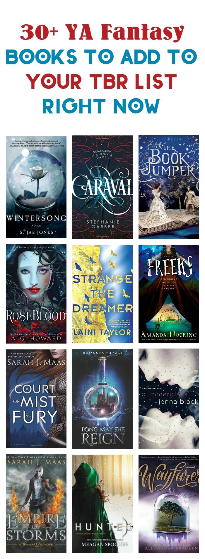 Love YA fantasy? Binge away, my friend, with these 30+ amazingly magical books to read! Check them out! via @nmetolen
