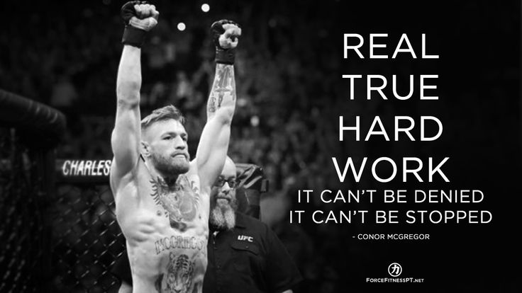 Conor McGregor, UFC, MMA, Hard Work, Fitness, Effort, Motivation, Success, Inspiration, Discipline, Dedication