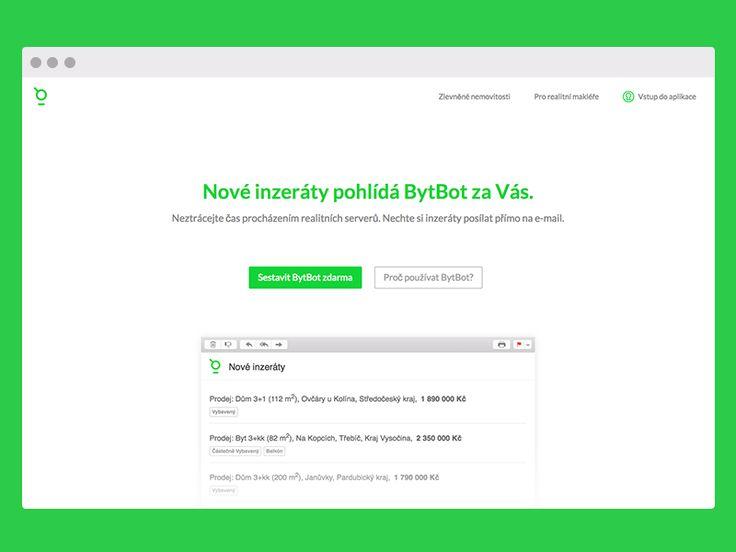 BytBot Landing Page by Adam Hayek