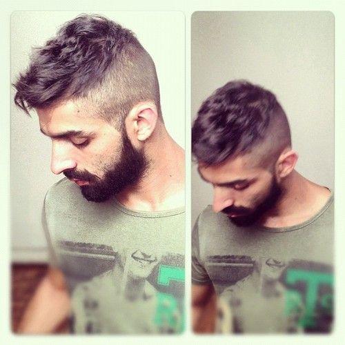 the beard and hair