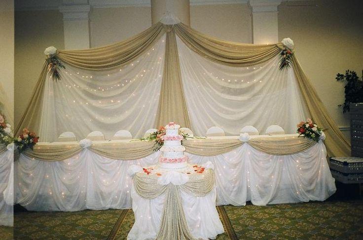 wedding head table ideas - Google Search