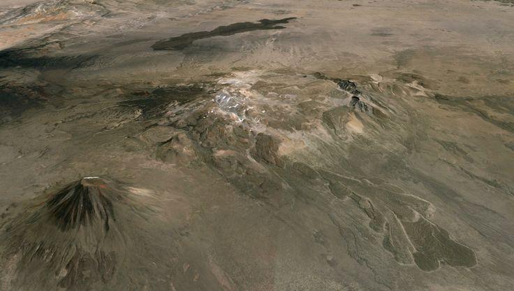 No es de otro planeta, es la caldera del diablo en Malargüe, Argentina