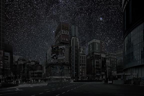 'Darkened Cities' by Thierry Cohen: Amazing Night Skies Imagined (Gallery)