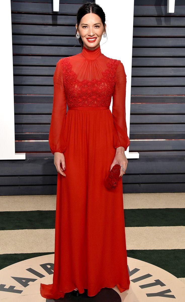 Olivia Munn Vanity Fair Oscar after party 2017