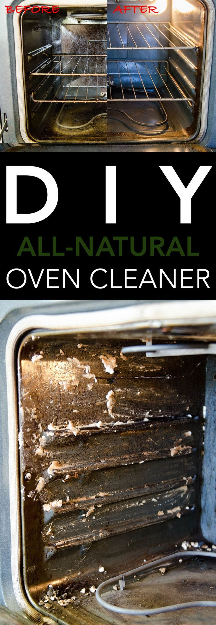 how to clean stove oven baking soda