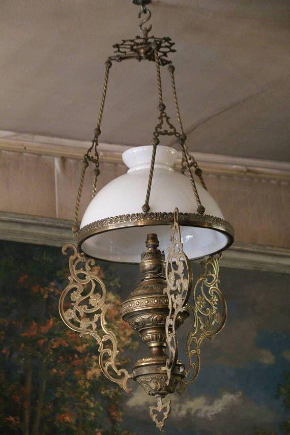 475 Best Antique European Oil Lamps Images On Pinterest
