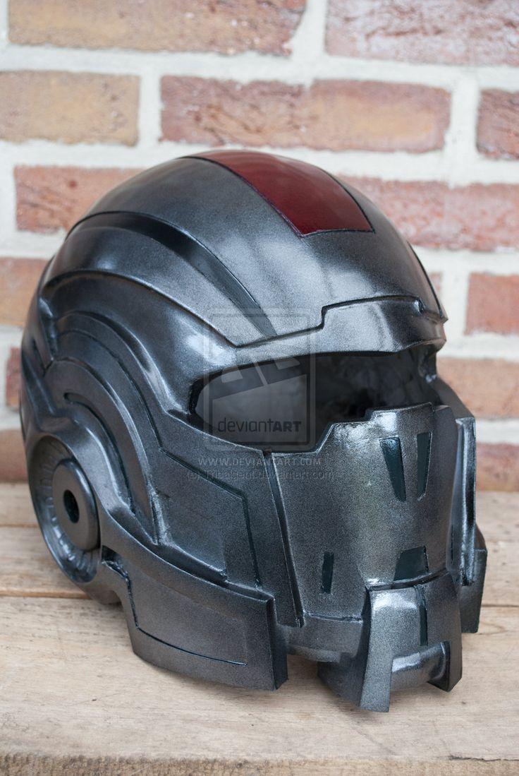 mass effect N7 helmet by Tribalgent.deviantart.com on @deviantART