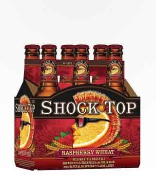 Shock Top - $11.99 Raspberry Ale. Same great Shock Top flavor with the smooth taste of raspberry. 5.2% ABV
