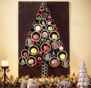 Aprende Como Hacer 8 Arbolitos Navidenos Para Decorar Paredes Lodijoella Decoracion Navidena Luces Navidad Decoracion Colgar Luces De Navidad