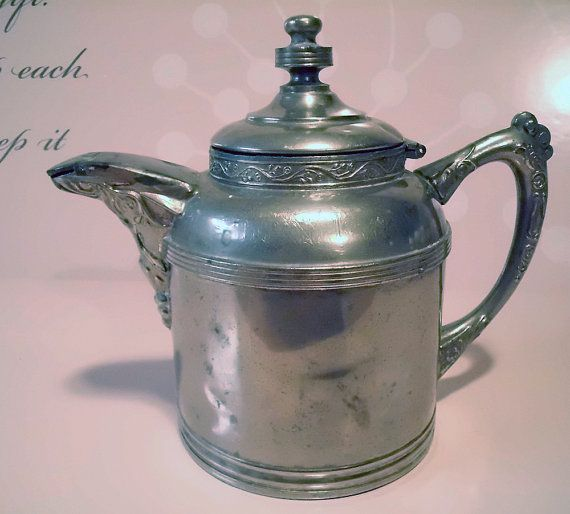 Antique Pewter Creamer-Sovereign G.I. Mix & Co. offered by VintageOnTheRidge, $18.00