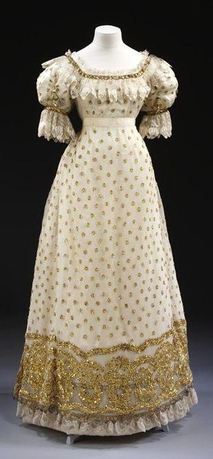 Ball gown circa 1920.