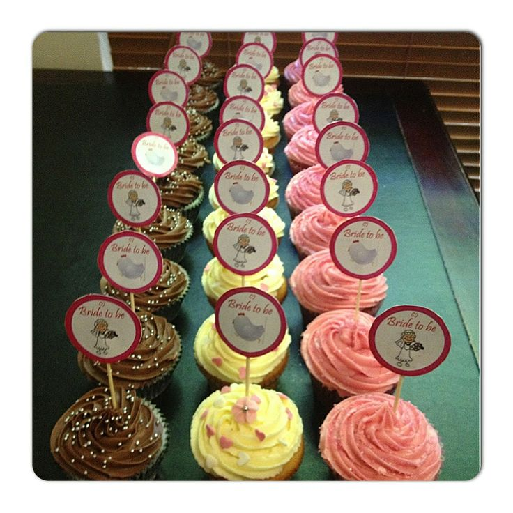 Hens party: truth or dare cupcakes