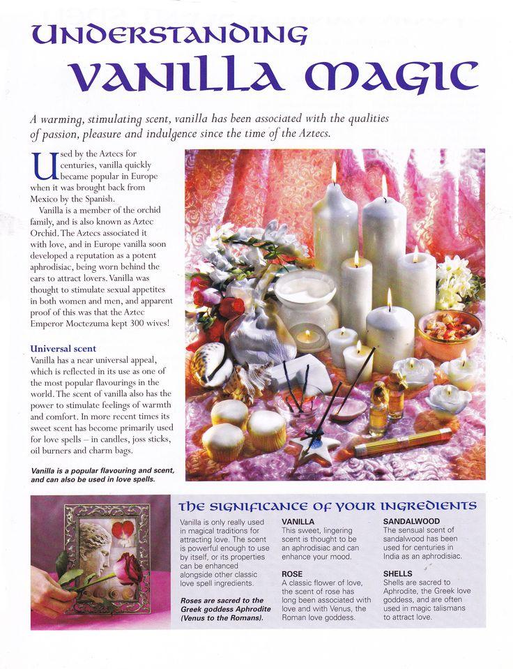 Understanding vanilla magic
