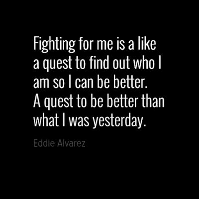 Motivational Quotes with Pictures: Fighting for me is a like a quest to find out who ...