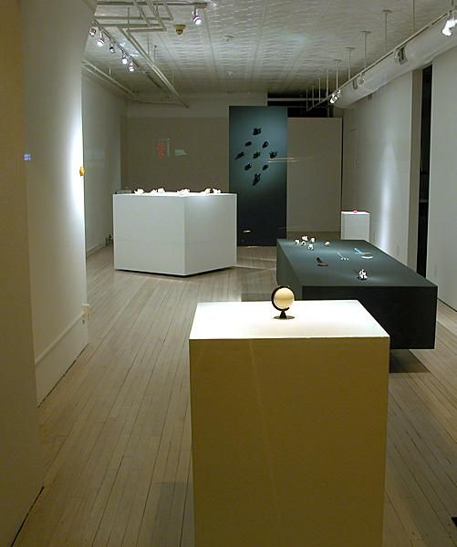 ALEXANDER BLANK Jewelry Exhibit Display Found At Art Forum Blog Read This Article