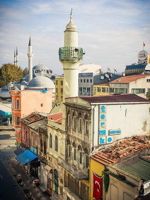 Karaköy Street, Istanbul, Turkey