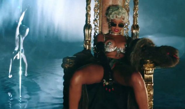 WATCH: Rihanna Twerks And Makes It Rain In 'Pour It Up' Video