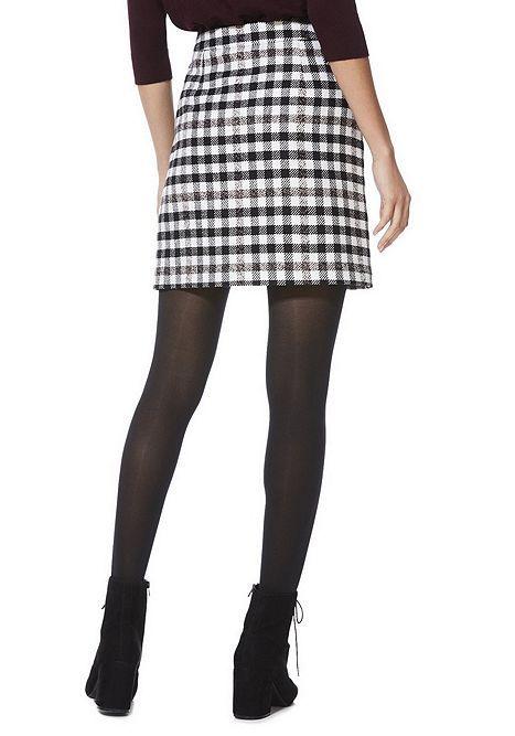 Tesco direct: F&F Checked A-Line Mini Skirt