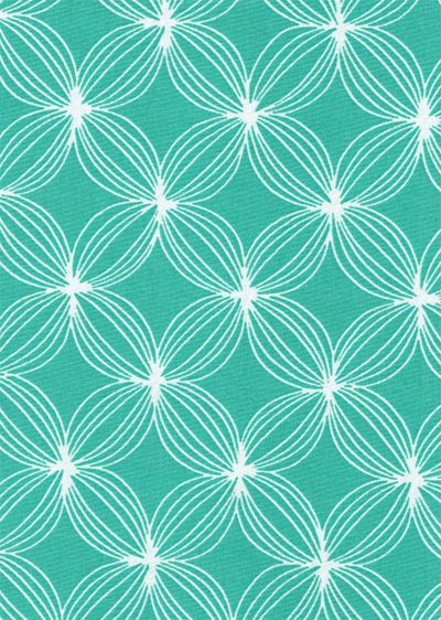 White lines pattern on aqua teal turquoise