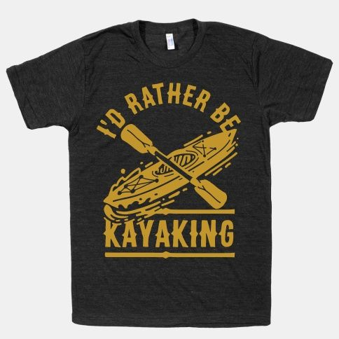 Grab your paddle and head to the water with this kayaker design