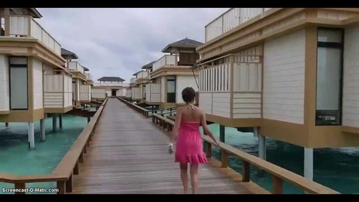 Villa di laut pinggir pantai