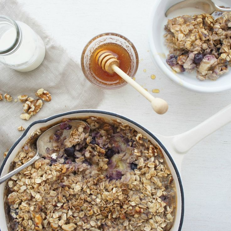 Baked Banana Oatmeal by chezza2001 - For those cool Autumn mornings.