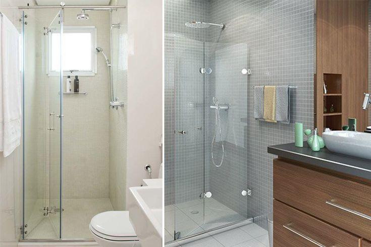 Banheiros » escolhendo o box ideal! PORTA ARTICULADA