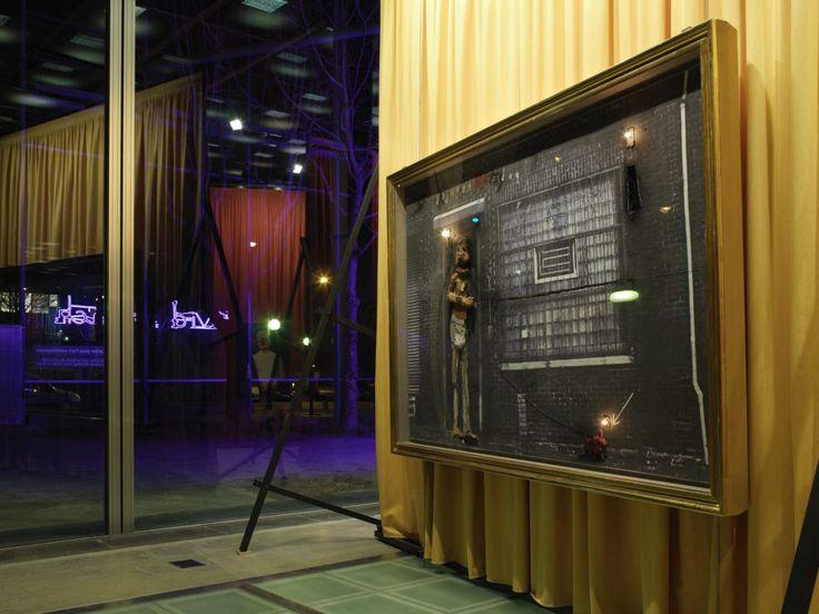View of the exhibition David Lynch, The Air is on Fire, Fondation Cartier pour l'art contemporain, Paris, 2007