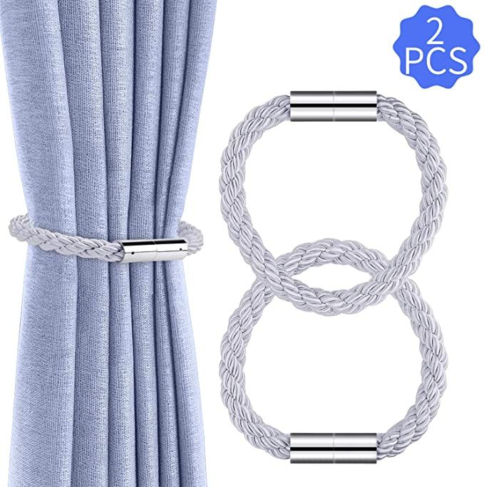 Amazon Com Ootsr Magnetic Curtain Tiebacks Curtain Holders Clips