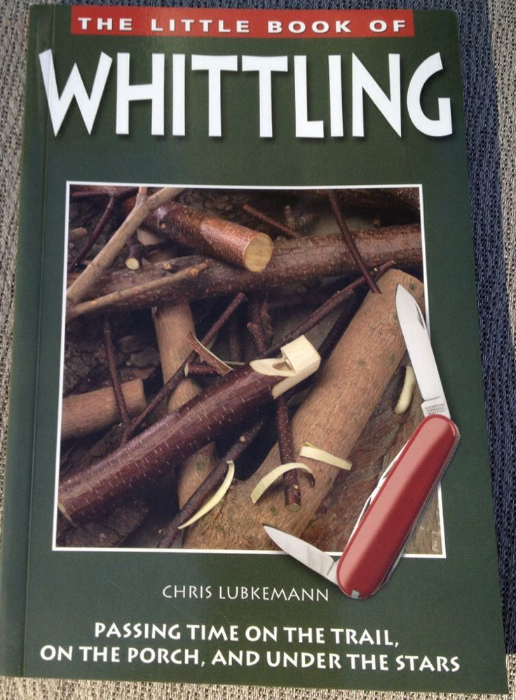 DIY Woodworking Ideas A short book review on The Little Book of Whittling. A great book for your woodw...