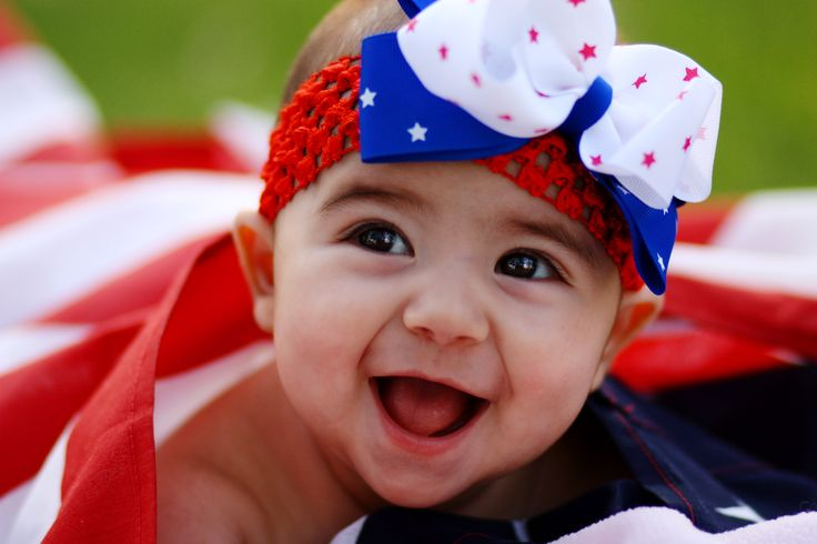 4th of july baby announcement ideas