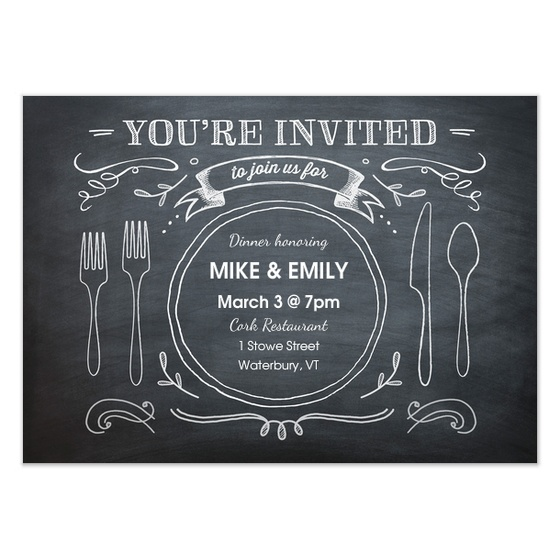 best 25+ dinner party invitations ideas on pinterest | rustic, Birthday invitations