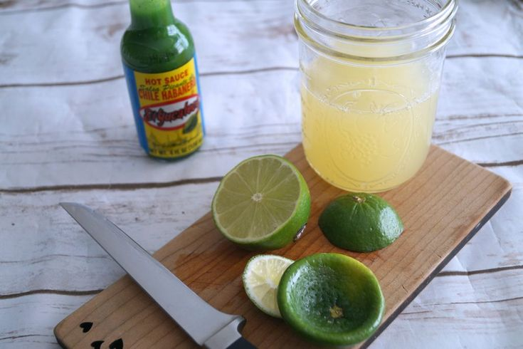 Green Habanero Margarita
