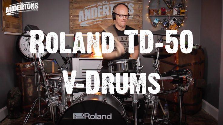 Drum Addicts - Roland TD-50 V-Drums Proper Demo! - YouTube