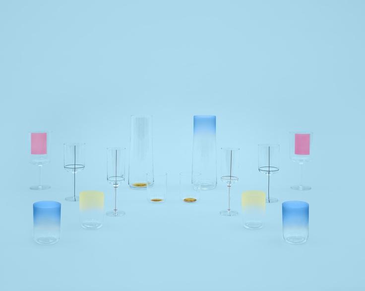 HAY new glassware by Scholten