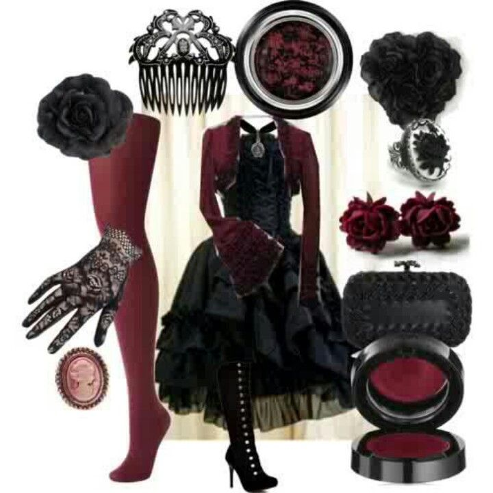 Very nice ! Victorian gothic outfit