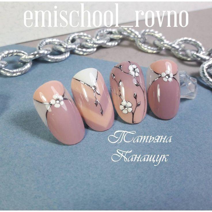 697 отметок «Нравится», 18 комментариев — E.Mi School Ровно, Украина (@emischool_rovno) в Instagram: «Потому что весна.... #нейларт #ногтировно #дизайнногтей #emiroshnichenko #гелевыйманикюр #ногти…»