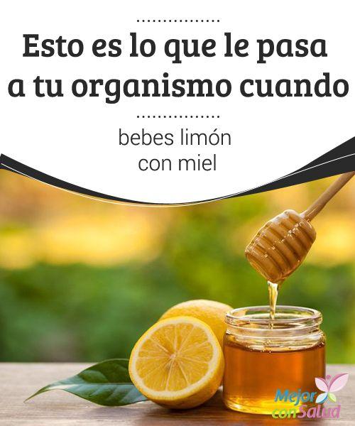 Esto es lo que le pasa a tu organismo cuando bebes limón con miel  Tomar limón con miel en un vaso de agua tibia es en uno de los remedios más clásicos de la medicina natural.