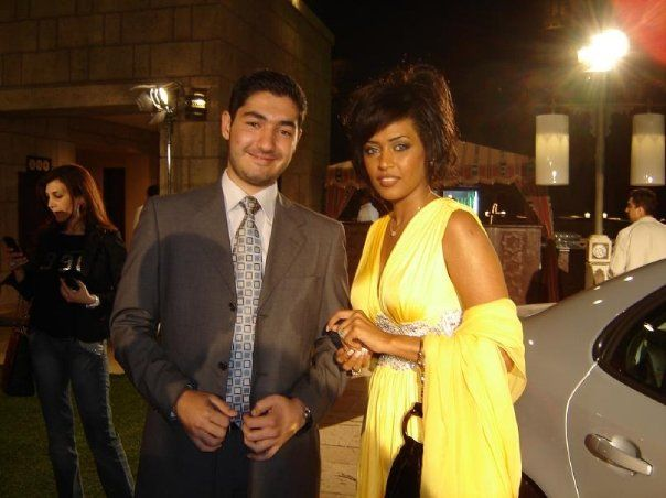 With Saudi Singer Wa'ed