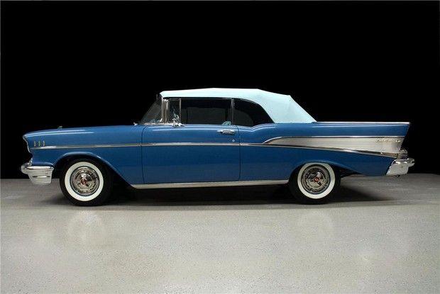 1957 Bel Air Chevrolet Pinterest Convertible