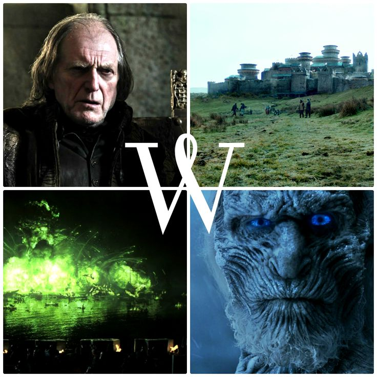 W is for … … Walder Frey, Winterfell, White Walkers, and Wildfire